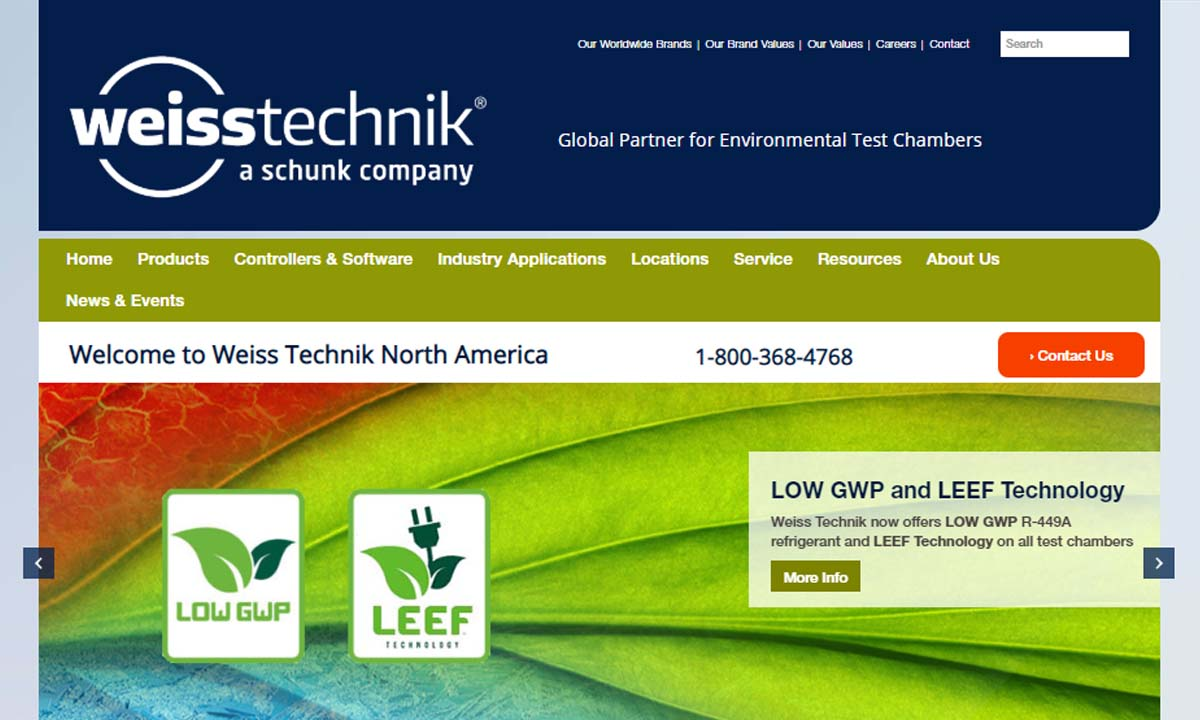 Weiss Technik North America, Inc.