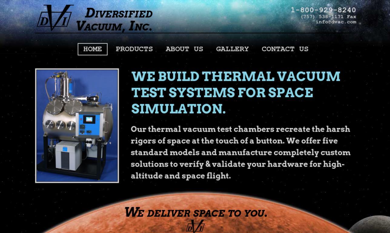 Diversified Vacuum, Inc.