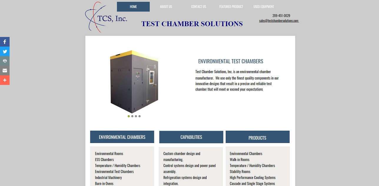 Test Chamber Solutions